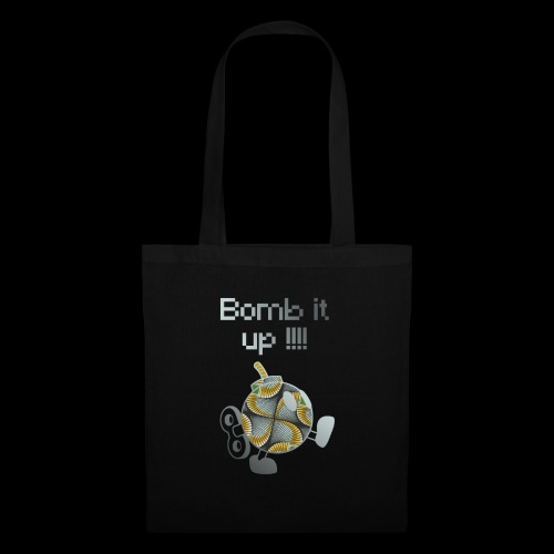 Bomb It Up : Grey Power !!! - Tote Bag