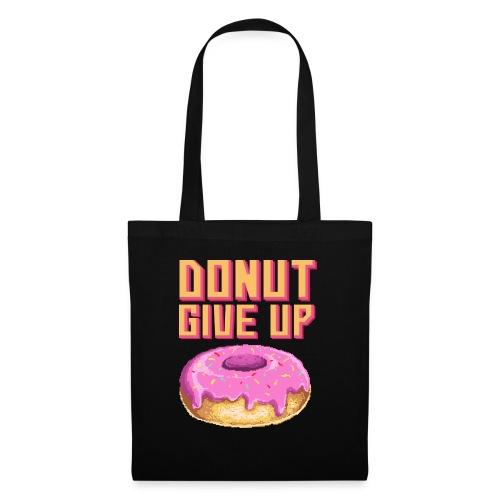 DonutGiveUp - Stoffbeutel
