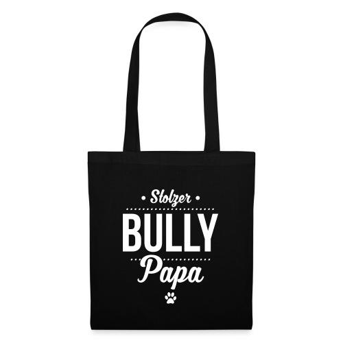 Stolzer Bullypapa Punkte - Stoffbeutel