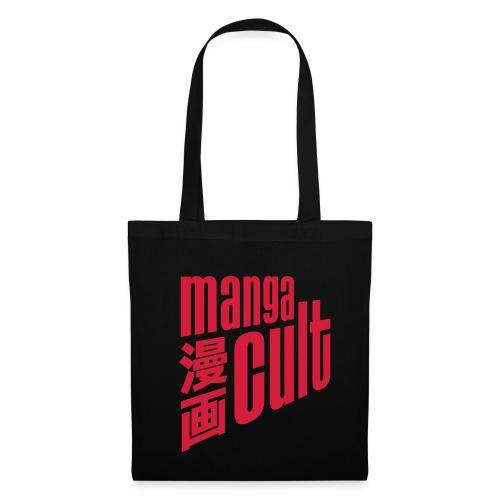 Manga Cult Logo Rot - Stoffbeutel