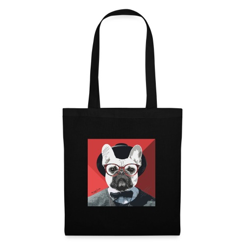 French Bulldog Artwork 2 - Stoffbeutel