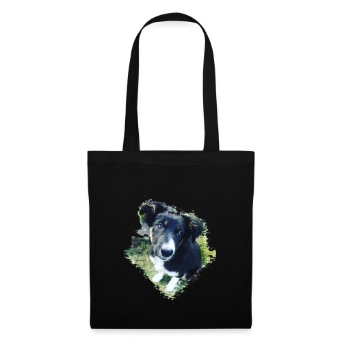colliegermanshepherdpup - Tote Bag