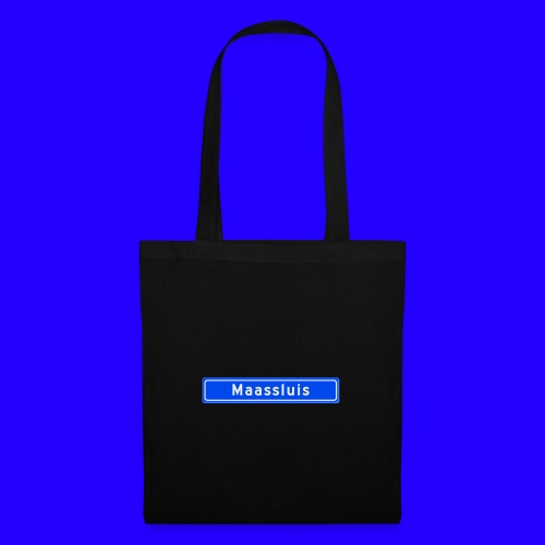 Maassluis box logo - Tas van stof