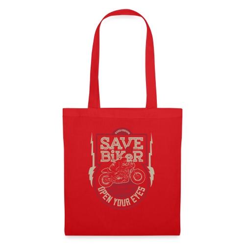 Save A Biker - Tote Bag