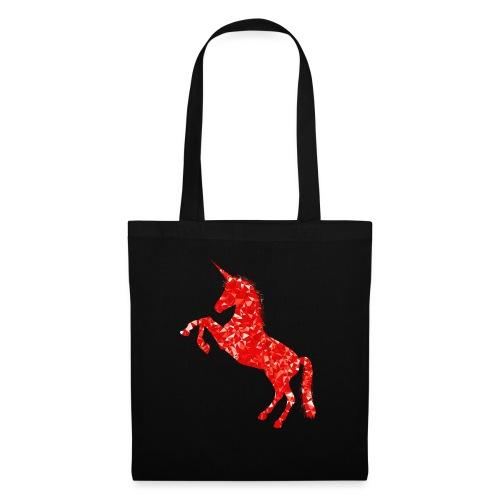 unicorn red - Torba materiałowa