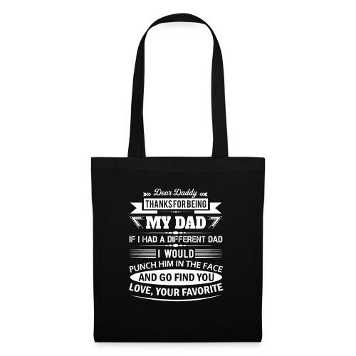 Dear Daddy... - Tote Bag