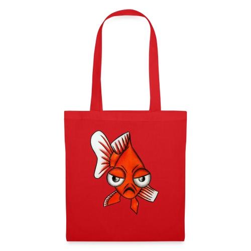 Angry Fish - Sac en tissu