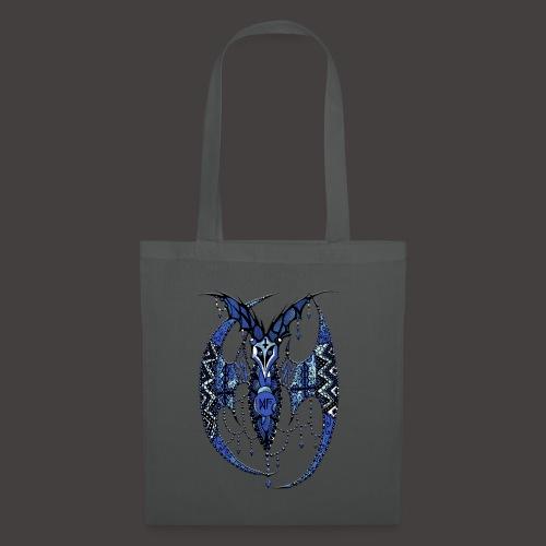 Chauve Souris Dentelle Bleue - Tote Bag