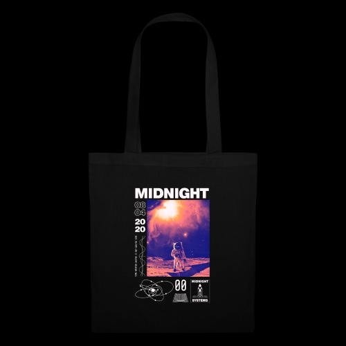 Midnight Astronaut Cosmic Pink - Tote Bag