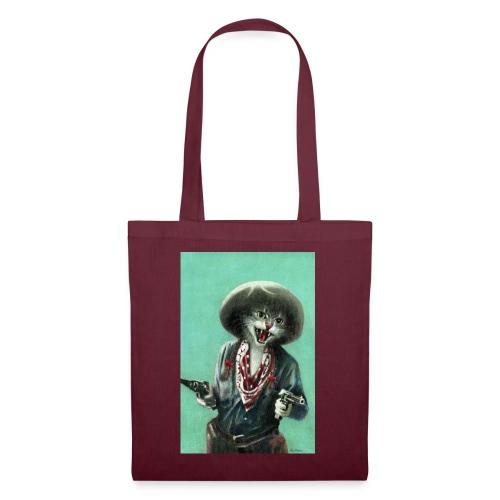 Vintage kitten Cow Girl - Tote Bag