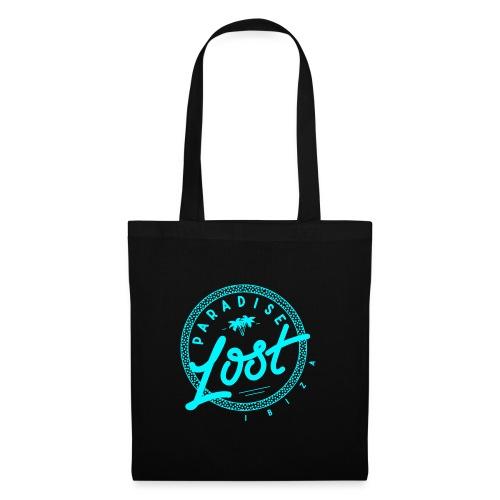 Paradise Lost Ibiza - Acid Blue Logo - Tote Bag