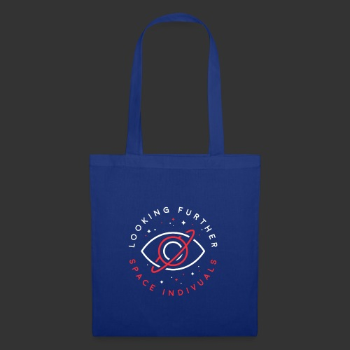Space Individuals - Looking Farther Black - Tote Bag