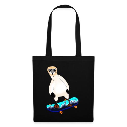 Skateboarding gannet - Tote Bag