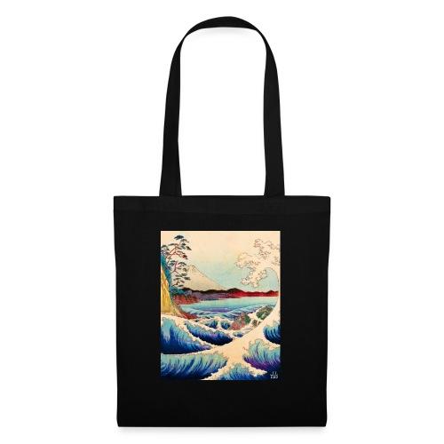 Japanese Wave - Stoffbeutel