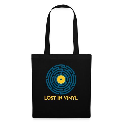 Lost in vinyl - Borsa di stoffa