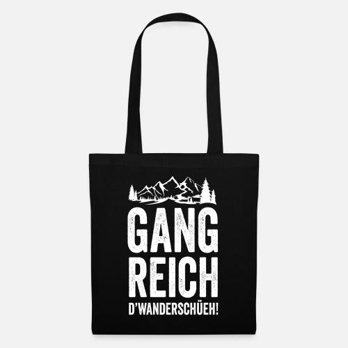 GANG REICH D'WANDERSCHÜEH! - Stoffbeutel
