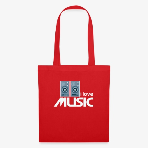 Amo la música 02 - Bolsa de tela