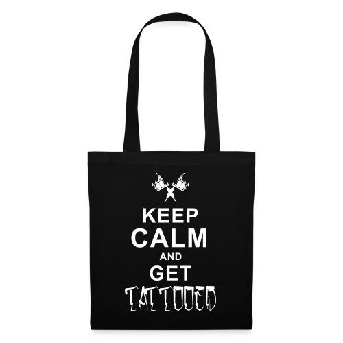 keep Calm Tattoo - Stoffbeutel