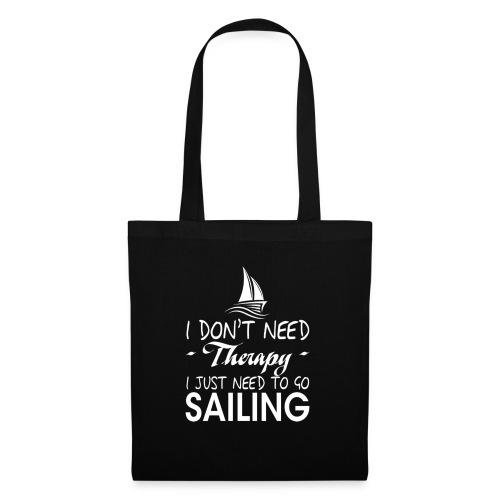 theraphy sailboat sailing - Borsa di stoffa