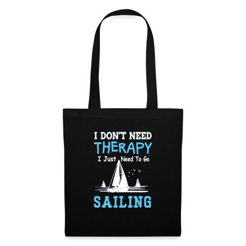 theraphy sailboat - Borsa di stoffa