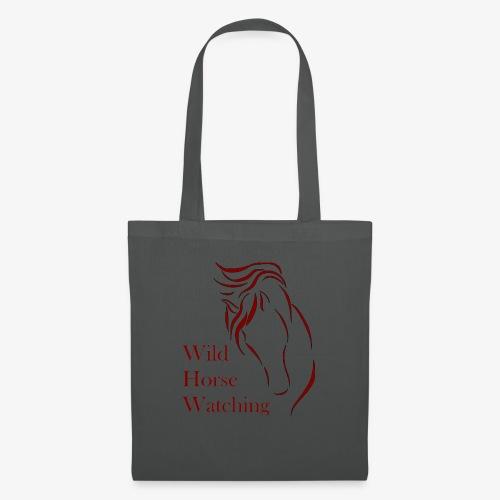Logo Aveto Wild Horses - Borsa di stoffa
