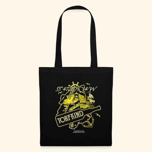 Whisky T Shirt Design Torfkind für Islay Fans - Stoffbeutel