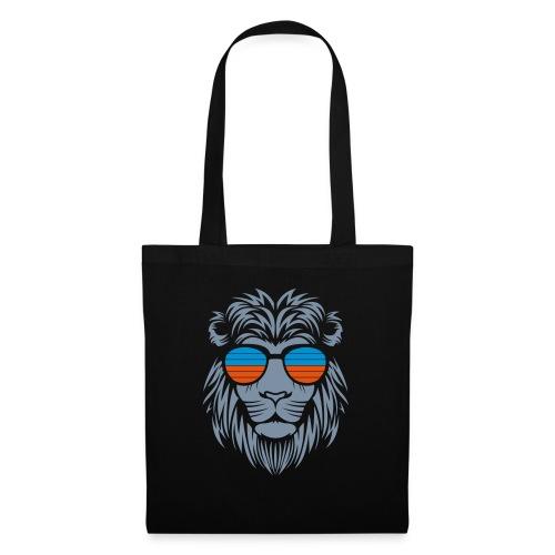 Retro Lion Sunglass 2 - Stoffbeutel
