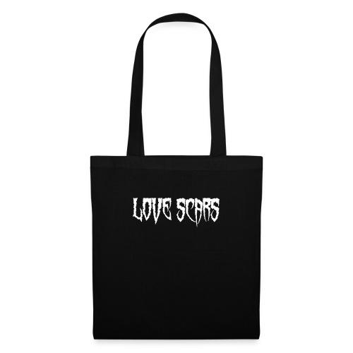 Love scars - Bolsa de tela