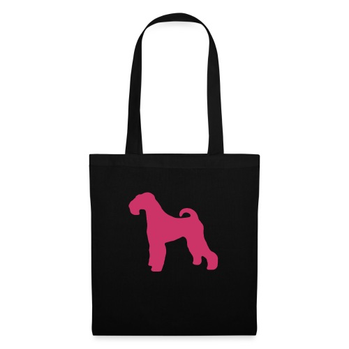 PINK Airedale Terrier - Tote Bag