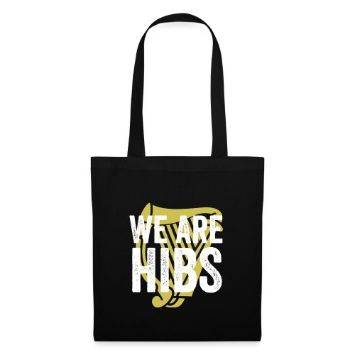 WEAREHIBS WhiteWithGoldHarp - Tote Bag