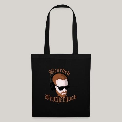 The Bearded Brotherhood w/ Text - Tote Bag