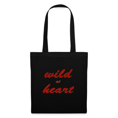wild at heart - Stoffbeutel
