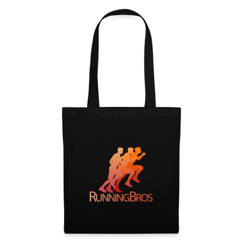 RunningBros Logo farbig - Stoffbeutel