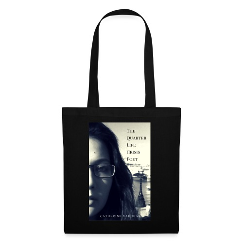 The Quarter Life Crisis Poet 300 DPI jpg - Tote Bag