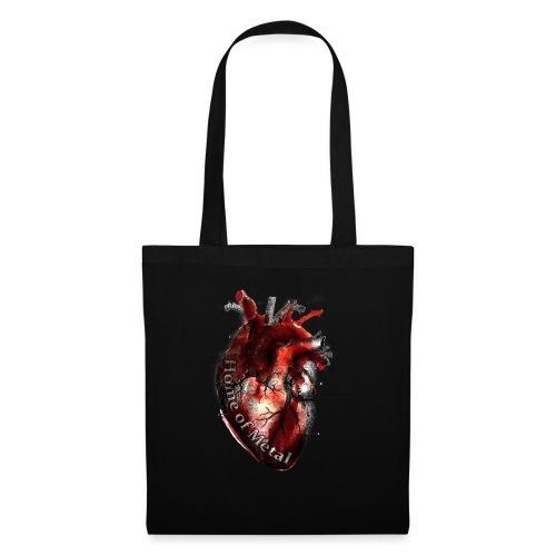 Heart of metal - Borsa di stoffa