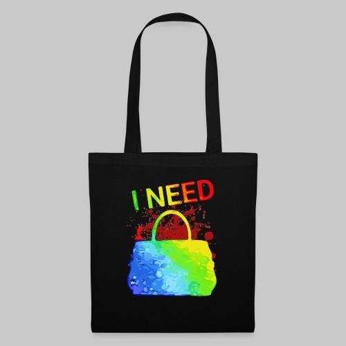 I need my bag Ich liebe meine Handtasche 2reborn - Stoffbeutel