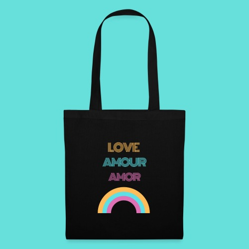 LOVE AMOUR AMOR - Tote Bag