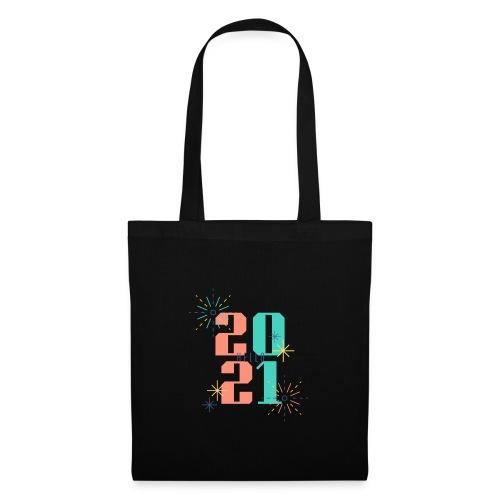 Bold New Year 2021 Occasion T Shirt - Stoffbeutel