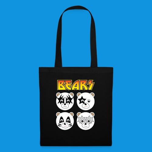 Kiss Bears square.png - Tote Bag