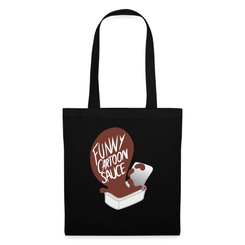 FUNNY CARTOON SAUCE - FEMALE - Tote Bag