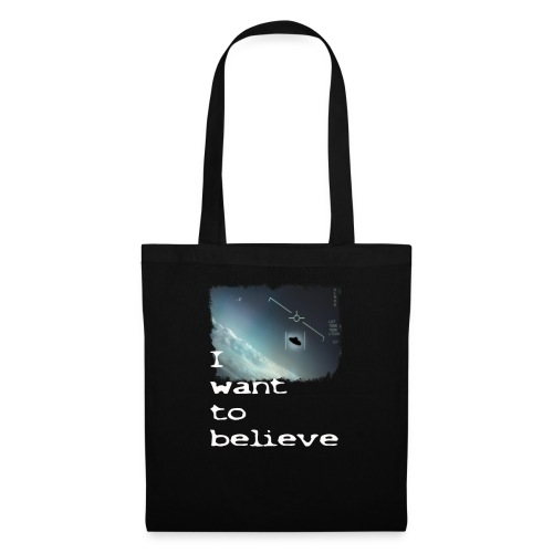 I Want To Believe UFO - Tote Bag