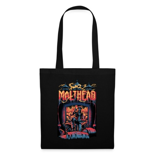Malthead Whisky Fan Shirt - Whisky Turntable - Stoffbeutel