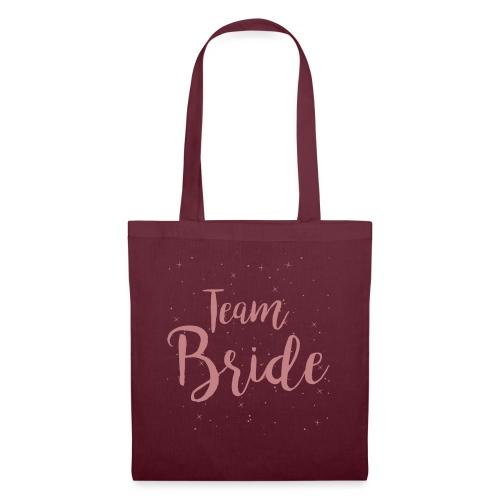 Team Bride - Stoffbeutel
