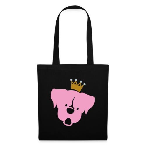Prinz Poldi rosa - Stoffbeutel