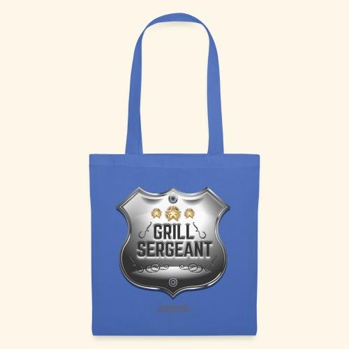 Grill Sergeant Abzeichen für Griller - Stoffbeutel