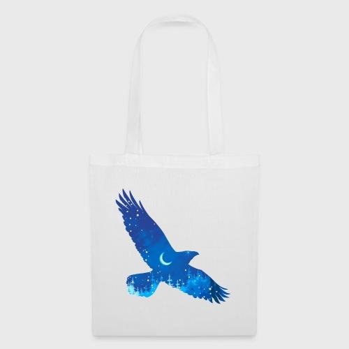 Oiseau Bleu d'hiver - Tote Bag