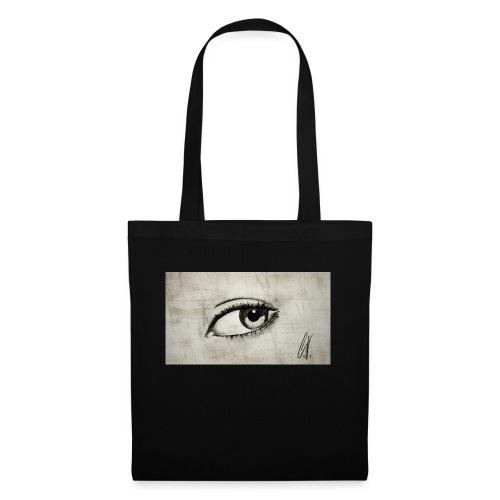 Drawn Eye - Stoffbeutel