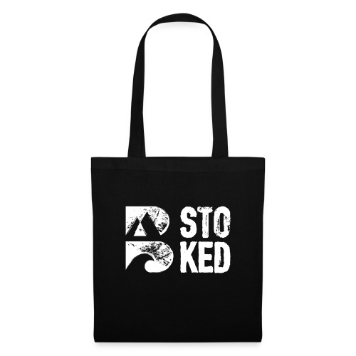 bstoked logo white - Tote Bag