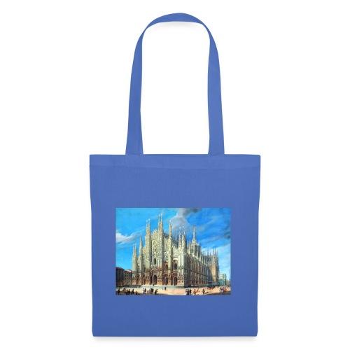 Duomo di Milano dipinto - Borsa di stoffa