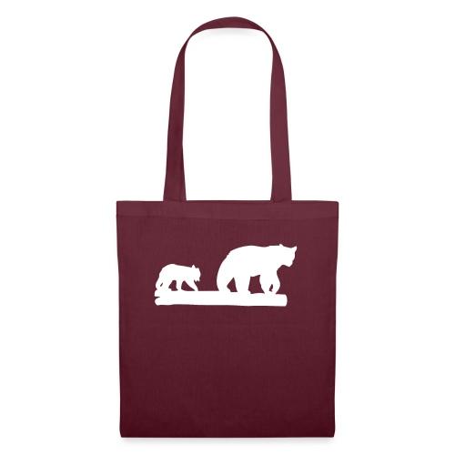Bär Bären Grizzly Raubtier Wildnis Nordamerika - Stoffbeutel